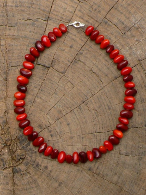 Image of Bats Wing Coral necklace
