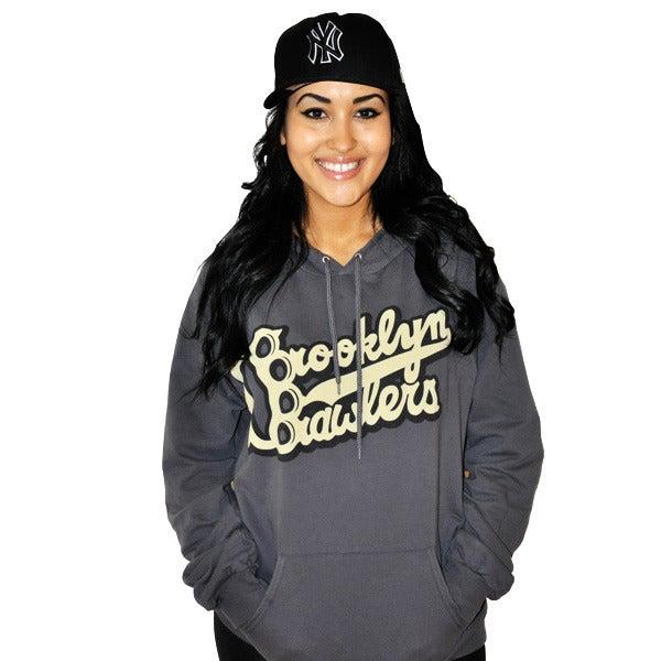 Image of Brooklyn Brawlers KickAssphalt Hoody (Unisex) Limited Edition!