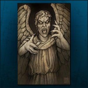 Image of Weeping Angel Print