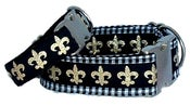 Image of Fleur de Lis Leash on UncommonPaws.com