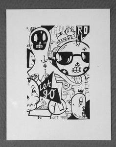 """Image of """"lets go"""" Illustration"""