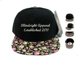 Image of Blindsight Small Floral Snapback