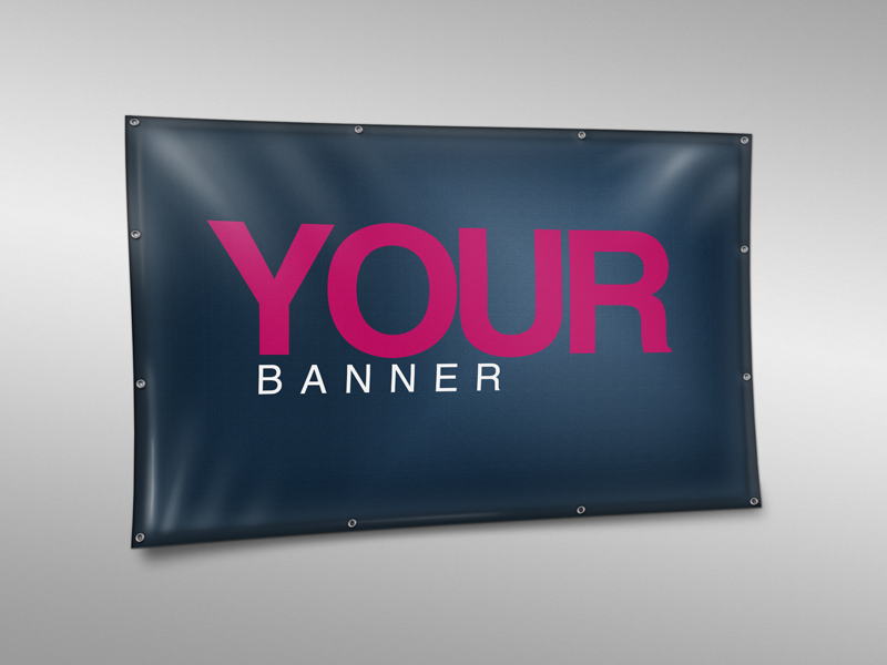 Image of PVC Banner Mockup Vol.1 (PSD)