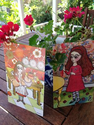 Image of Set of Alice Prints.