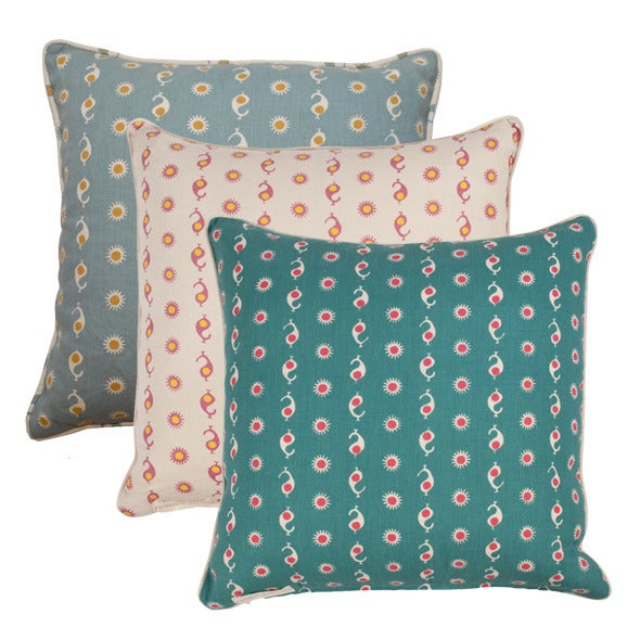 """Image of Casablanca Double Sided 22"""" Pillows"""