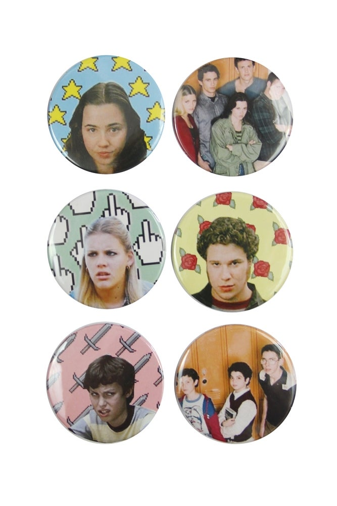 Image of FREAKS AND GEEKS BUTTONS