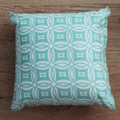 Image of Handmade Cushion - Circle Print