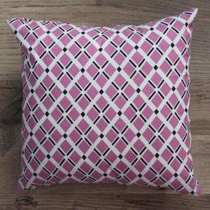 Image of Handmade Cushion - Geo Print