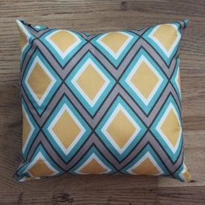 Image of Handmade Cushion - Diamond Print