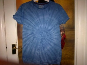 Image of Navy blue tie-dye Tee