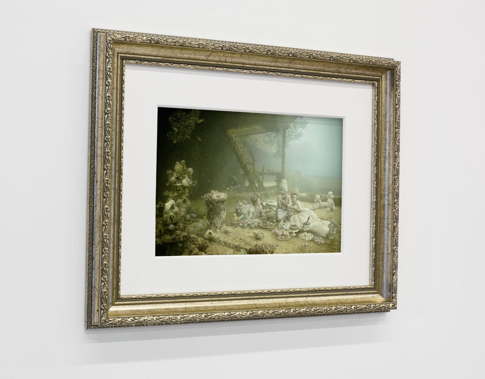 Image of Limited print in golden frame /  STAVRONIKITA PROJECT