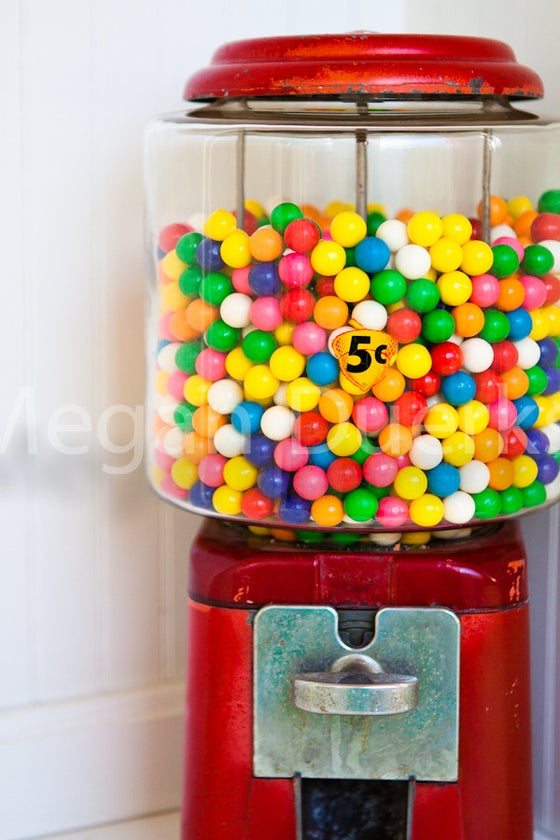 Image of Gumball Machine Print