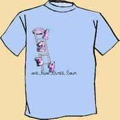 Image of One Two Three Four Cartoon Shirt