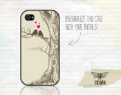 Image of Love Birds iPhone Case (0141)