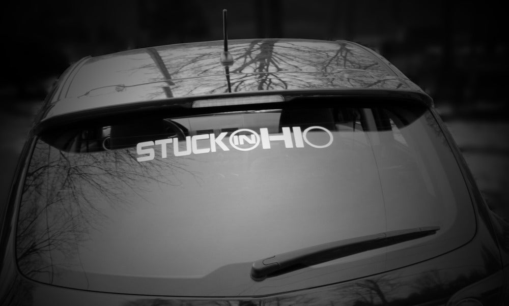 Image of 20 INCH Stuck In Ohio Decal