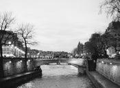 Image of Seine River at Dusk