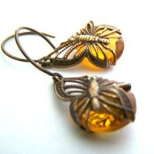 Image of Fluttered in Golden Topaz