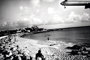 Image of Plane Down, St. Maarten, 1996