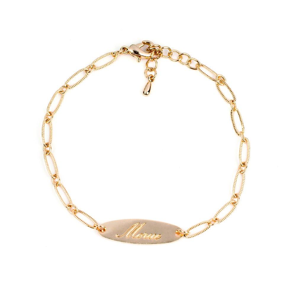 Bracelet gourmette - Felicie Aussi
