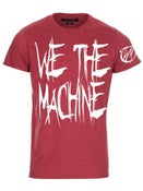 "Image of We The Machine ""Chicken Scratch"" Tee"