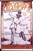 Image of Professor Blastoff Live in Vancouver Poster
