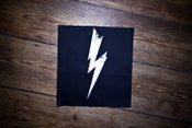 "Image of Patch ""FLASH"" black"