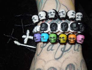 Image of Skulls & Cross Bracelets