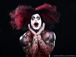 Image of Bodybuilder Clown