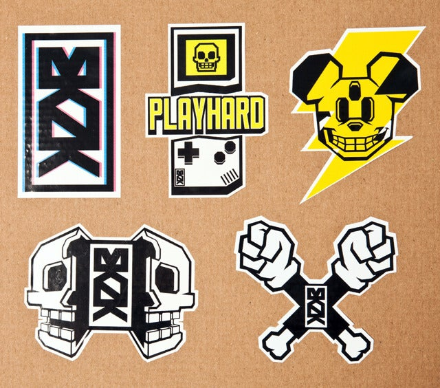 Image of MKNK Sticker Pack 01