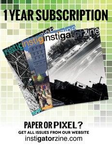 Image of Instigatorzine 1-Year Subscription