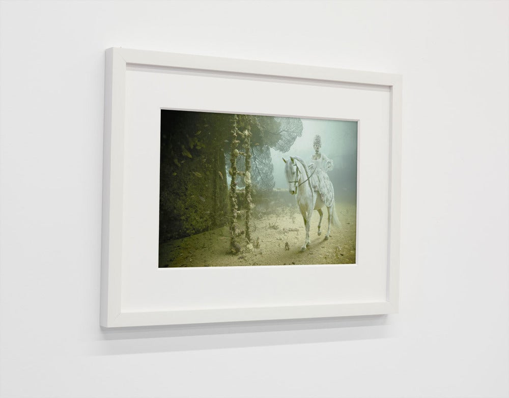 Image of Limited print with white frame/ STAVRONIKITA PROJECT