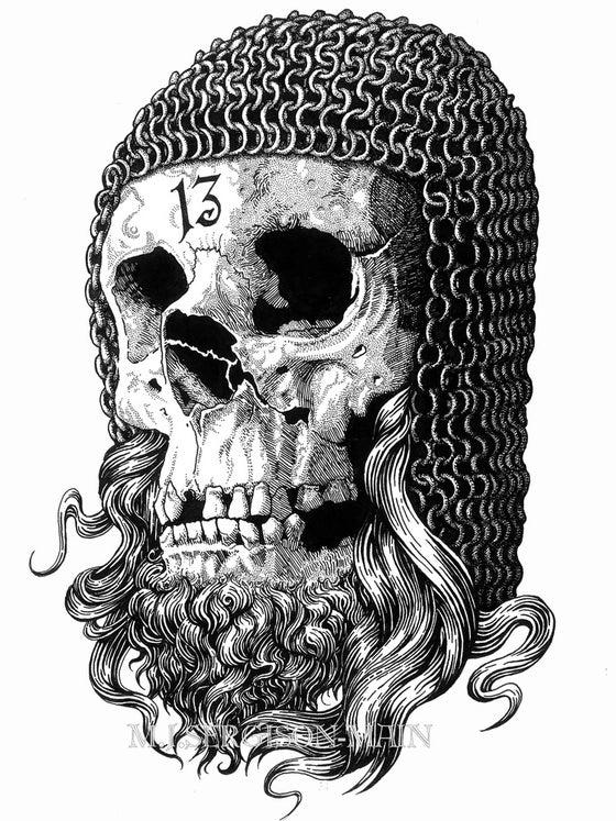 Image of Templar - a3 high quality art print