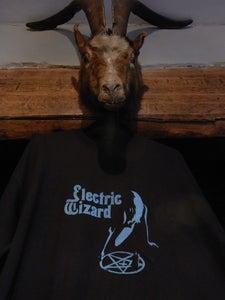 Image of Electric Wizard T-shirt  blue pentagram