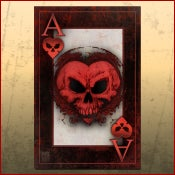 Image of BAD ACE Ace of Hearts Print