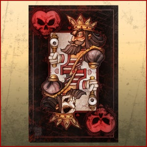 Image of BAD ACE Jack of Hearts Print