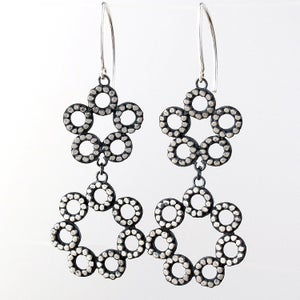Image of Double Circle Dangles