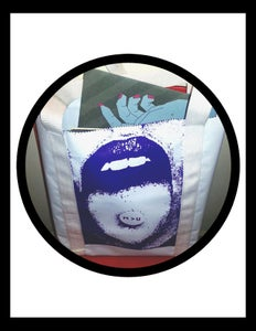 Image of M > U Purple Tote Bag
