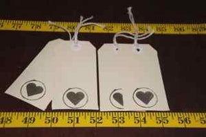 Image of pack of 4 gift tags