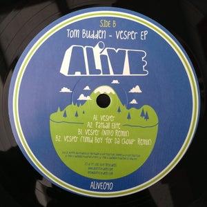 "Image of ALiVE040 / Tom Budden / Vesper EP (NTFO / Timid Boy Remixes) (12"" Vinyl)"