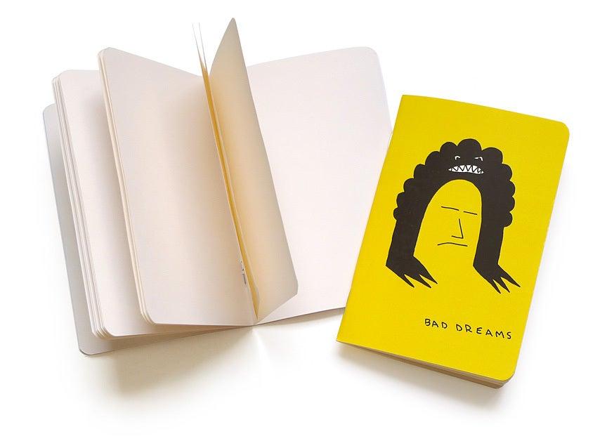 """Image of Ramsey Dau """"Bad Dreams"""" Pocket Notebook"""