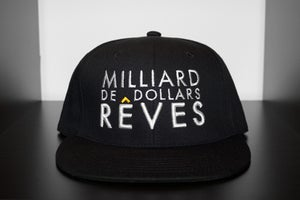 Image of MILLIARD DE DOLLAR RÊVES SNAPBACK