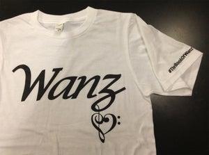 Image of Wanz White T-Shirt
