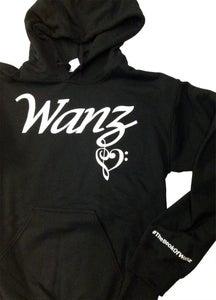 Image of Wanz Black Hoodie
