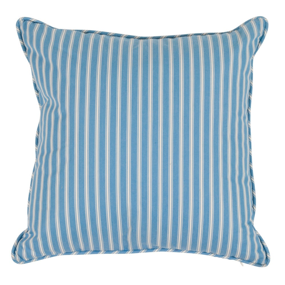 """Image of Sanibel Stripe Double Sided 18"""" Pillows"""