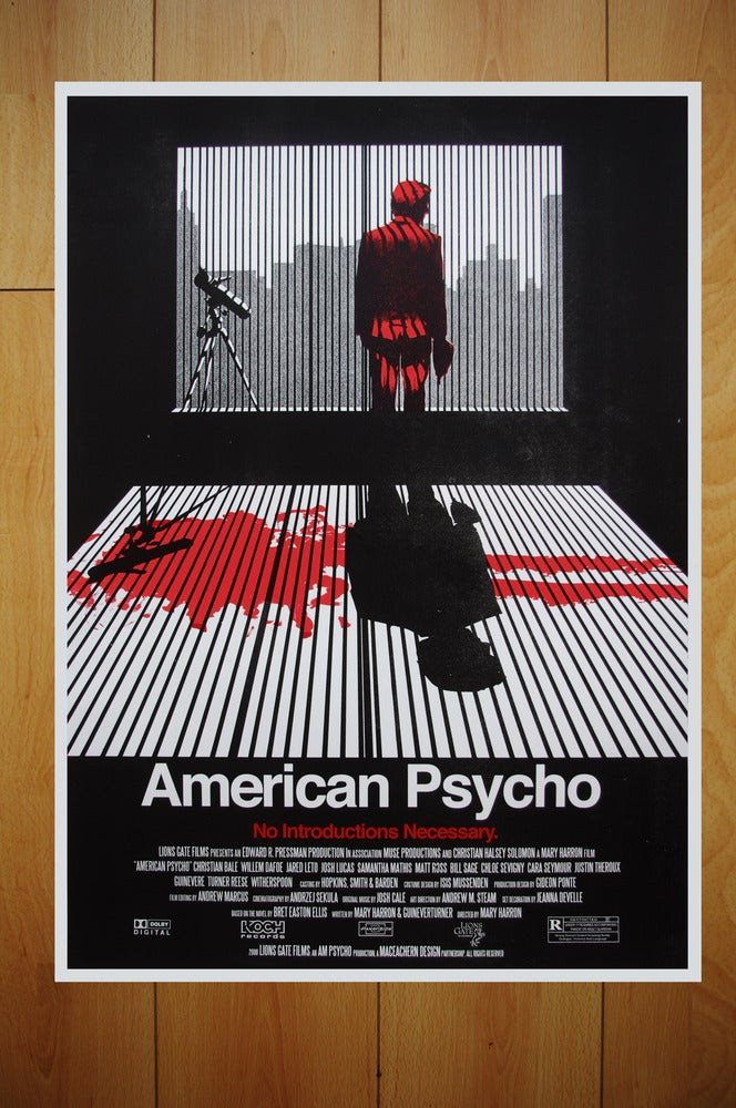 american psycho essay American psycho is a 2000 american black comedy horror film co-written and  directed by mary harron, based on bret easton ellis's 1991 novel of the same.