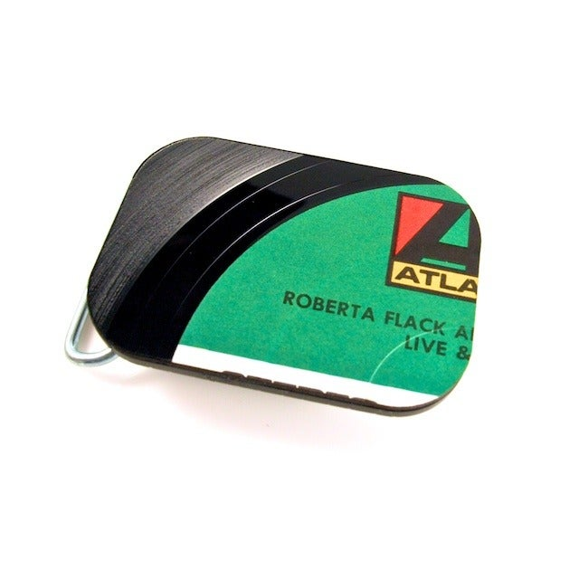 Image of Recycled Vinyl Record Belt Buckle