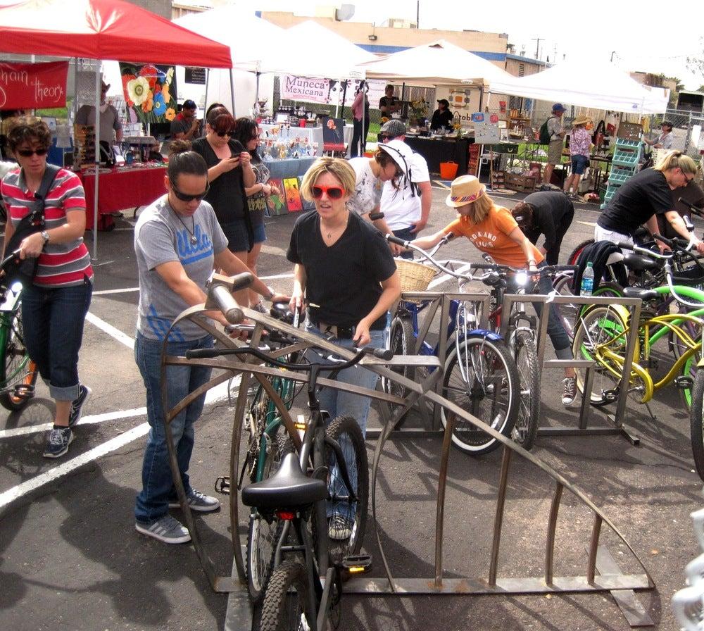 Image of Municipal Mischief Bike Rack
