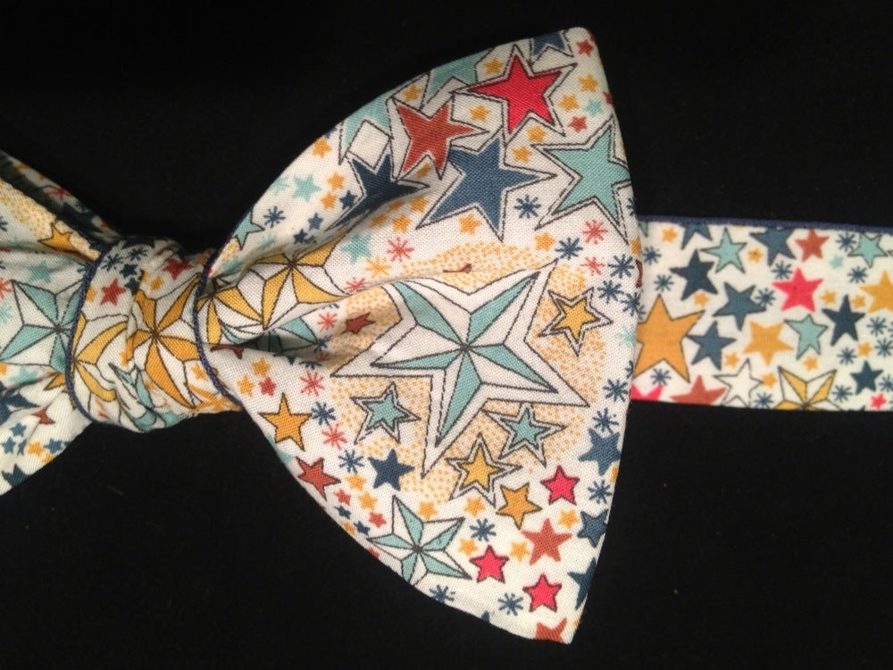 Image of Noeud papillon Liberty Adeladja Multicolore