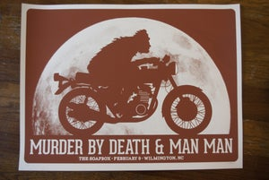 Image of Murder By Death & Man Man (Wilmington 2013)