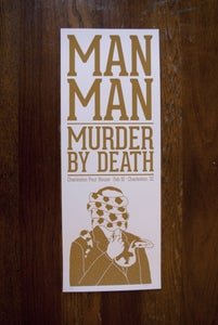 Image of Man Man & Murder by Death (Charleston 2013)